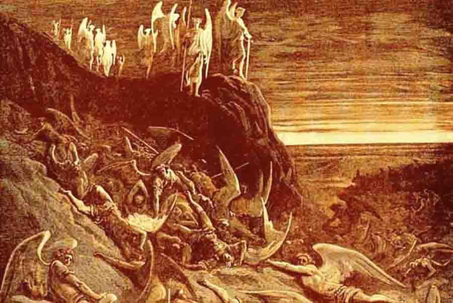 სატანის დამხობა
