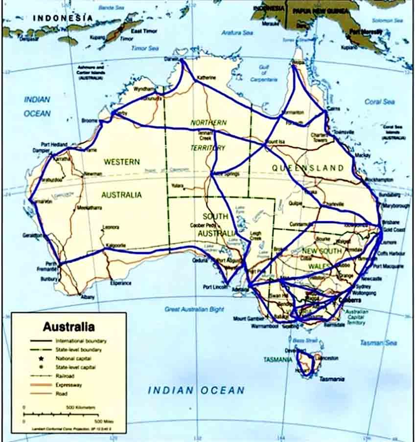 ხანძრები ავსტრალიაში