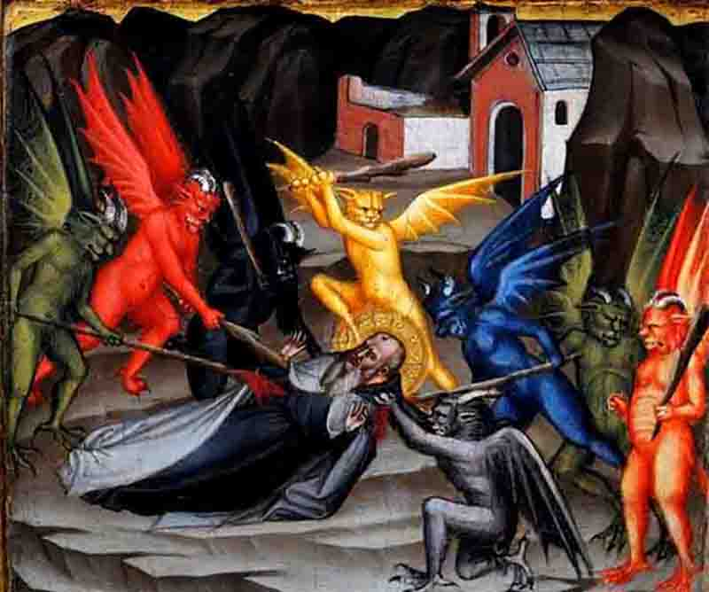 წმ. ანტონი დიდის გამოცდა ეშმაკთა მიერ