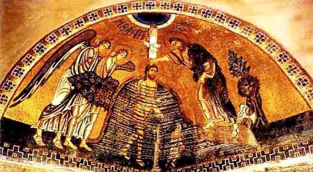 ქრისტეს ნათლისღება იორდანეში