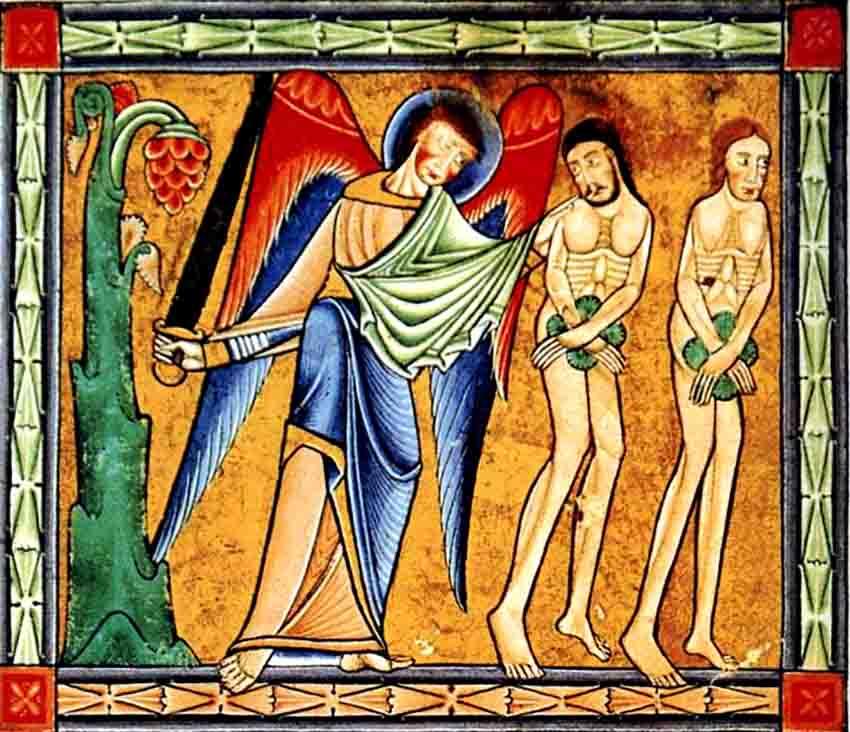 ადამისა და ევას განდევნა სამოთხიდან
