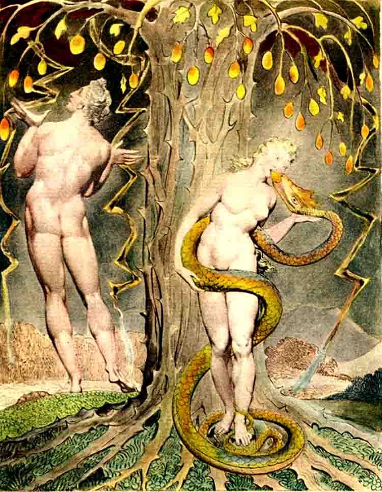 ადამი და ევა სამოთხეში