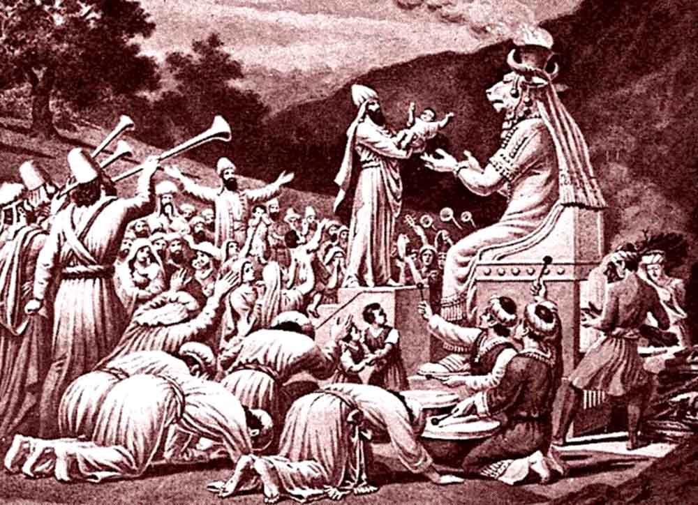 ადამიანთა მსხვერპლშეწირვა მოლოქისადმი
