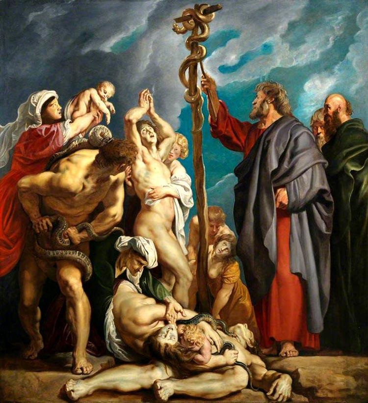 მოსე და გველის ამაღლება