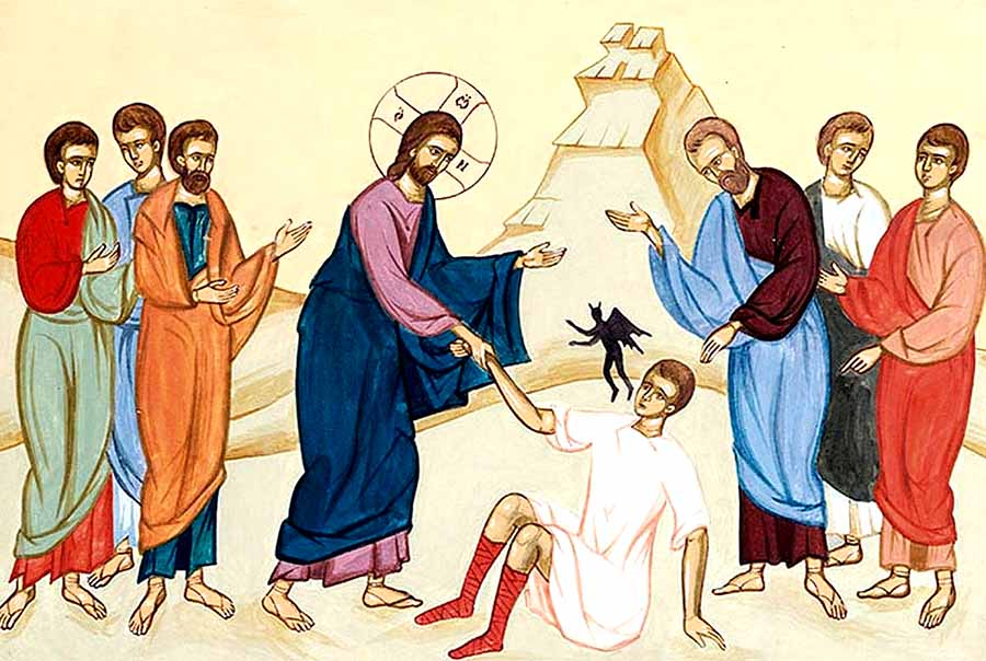 სიმუნჯის ეშმაკის განდევნა ქრისტეს მიერ