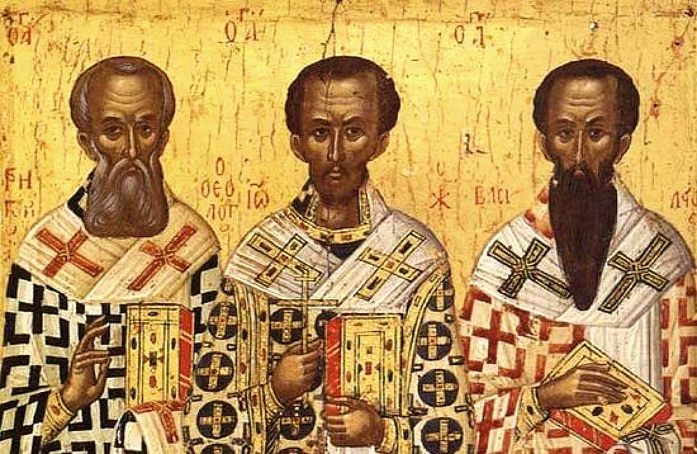 ბასილი დიდი, იოანე ოქროპირი და გრიგოლ ღვთისმეტყველი