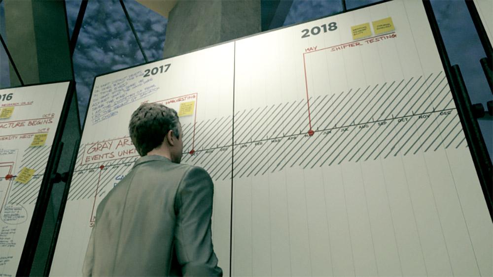 Quantum Break - დაპროგრამებული მომავალი