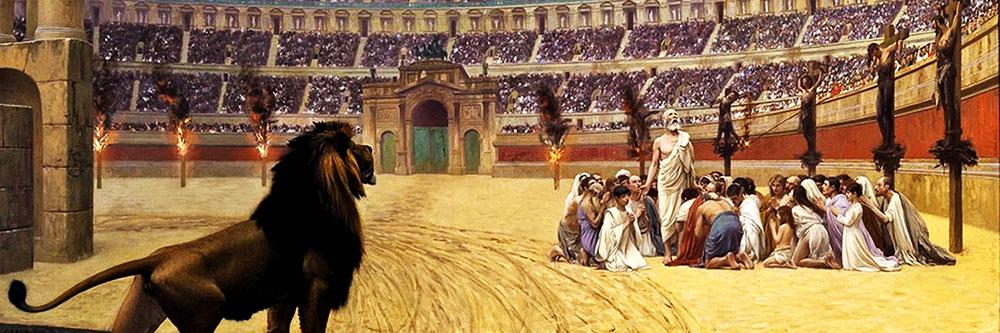 პირველ საუკუნეთა ქრისტიანი მოწამეები